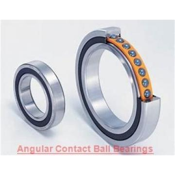 30 mm x 72 mm x 19 mm  NACHI 7306DF angular contact ball bearings