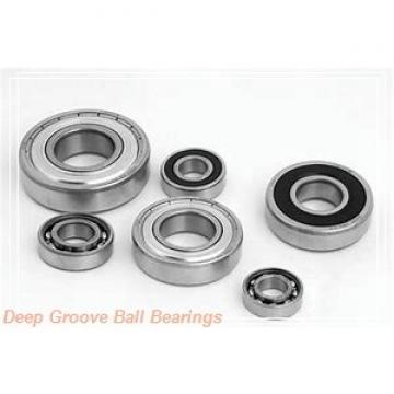 2 mm x 7 mm x 2,5 mm  KOYO ML2007 deep groove ball bearings