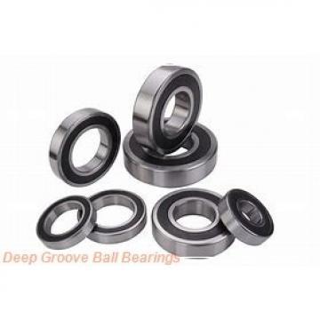 Toyana 1680204 deep groove ball bearings