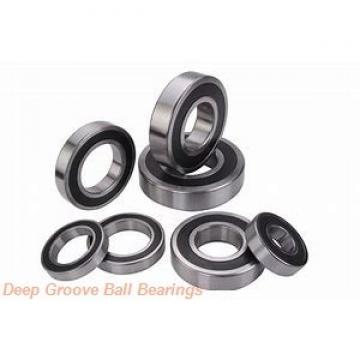 170 mm x 360 mm x 72 mm  NKE 6334-M deep groove ball bearings