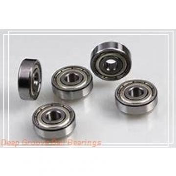 5 mm x 10 mm x 4 mm  ZEN MR105-2Z deep groove ball bearings