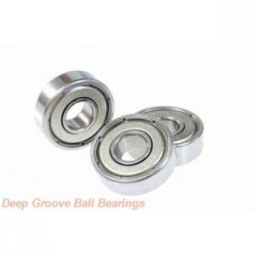 95 mm x 120 mm x 13 mm  NACHI 6819ZNR deep groove ball bearings