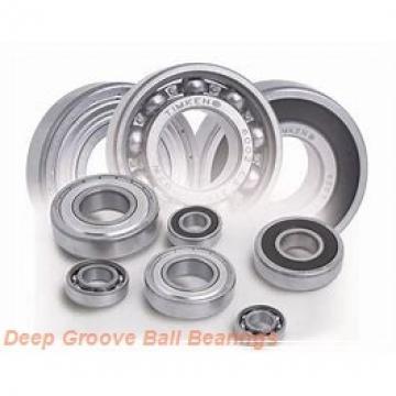 12 mm x 28 mm x 8 mm  NACHI 6001-2NSE deep groove ball bearings
