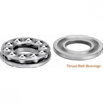 95 mm x 190 mm x 24 mm  NKE 54322-MP thrust ball bearings