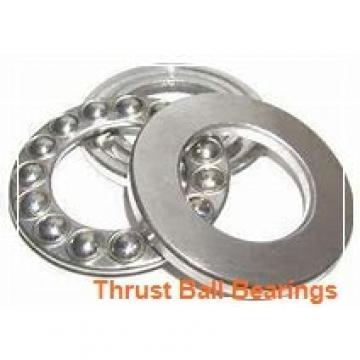 40 mm x 68 mm x 9 mm  NSK 54208U thrust ball bearings