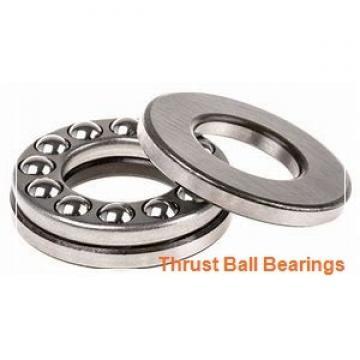 45 mm x 90 mm x 10 mm  SKF 54211 + U 211 thrust ball bearings